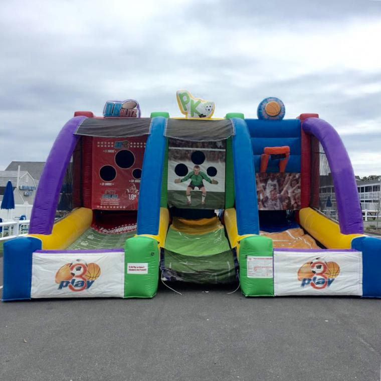 Wonderful Cape Cod Inflatable Rentals Part - 13: Triple Play Sports Combo