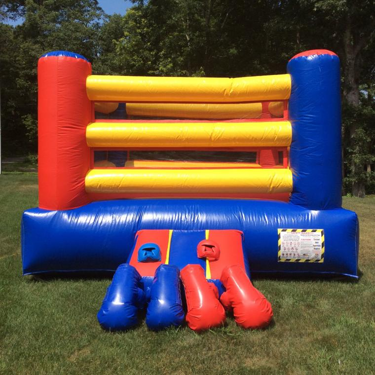 Cape Cod Inflatable Rentals Part - 30: Punch Out!!! Boxing Ring