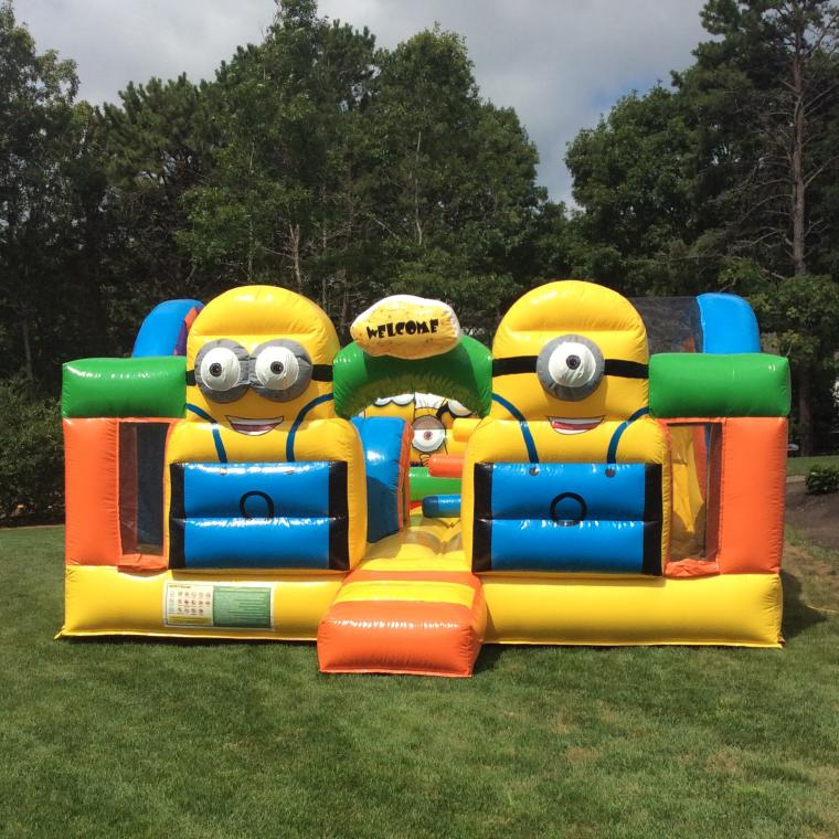 Cape Cod Inflatable Rentals Part - 18: Minions Playland