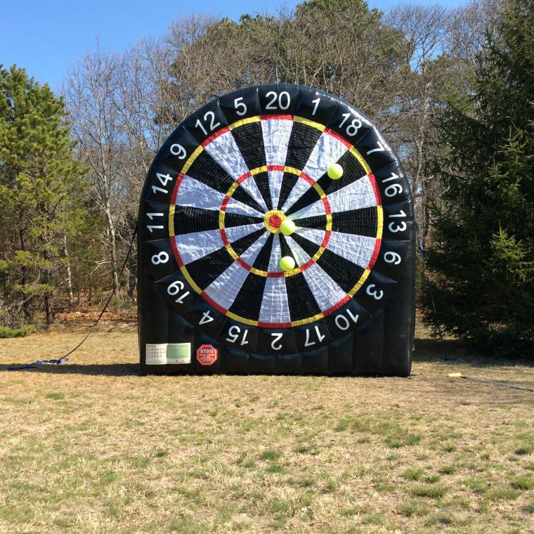 Cape Cod Inflatable Rentals Part - 49: Giant Soccer Dart