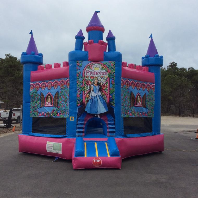 Princess bouncer cape cod inflatable rentals for Call girls cape cod