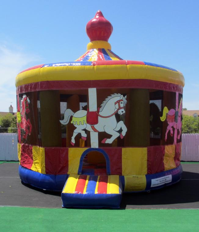 Lovely Cape Cod Inflatable Rentals Part - 12: Carousel Moonwalk