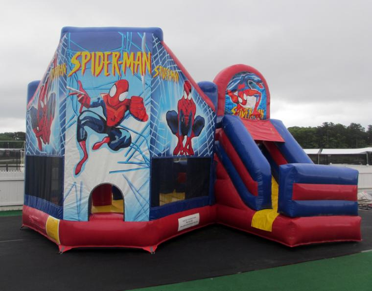 Ordinary Cape Cod Inflatable Rentals Part - 11: Spiderman Combo