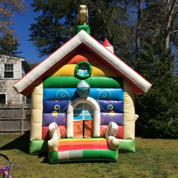 Cape Cod Inflatable Rentals Part - 16: Candy Land Moonwalk