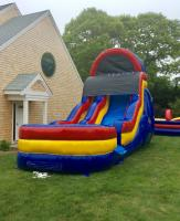 Blue Bubble Bump Slide Wet n Dry