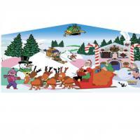Panel Santa & Friends