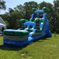18 ft Tropical Wet n Dry Marble Slide