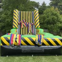 Green n Yellow Velcro Wall